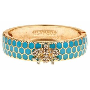 Honey Bangle - Aqua