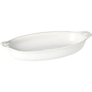 Berry & Thread Medium White Shallow Baker