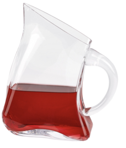 Celina Unique Flat Design Lead Free Crystal Pitcher H8.5