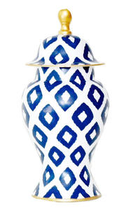 Dana Gibson Blue Ginger Jar