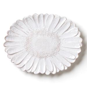 Bellezza Bloom White Daisy Oval Platter