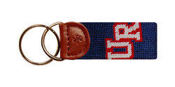 University of Richmond Needlepoint Key Fob
