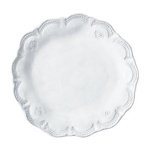 Incanta White Lace Dinner Plate