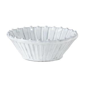 Incanta White Stripe Cereal Bowl
