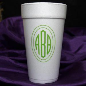 Personalized Styrofoam Cups -16oz.