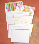 Colorful Hand Bordered Card Ensemble