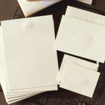Embossed Monogram Ensemble
