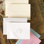 Embossed Informal Notes