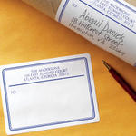Bordered Shipping Labels