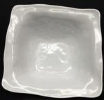 Melamine Square Ruffle Serving Bowl