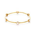 Julie Vos:  Milano Bangle (pearl)