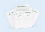 His & Hers Note Pads