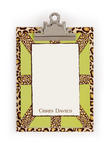 Leopard Classic Clipboard with personalized paper
