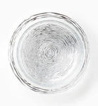Rufulo Glass Stripe Serving Bowl