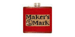 Smathers and Branson Needlepoint Makers Mark Flask