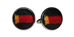 Smathers and Branson Needlepoint Shotgun Shells Cufflinks