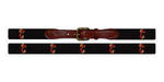 College of Charleston Needlepoint Belt