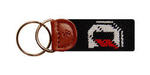 Davidson Needlepoint Key Fob