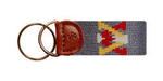 VMI Needlepoint Key Fob