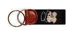 Wake Forest Needlepoint Key Fob