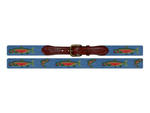 Smathers and Branson Steel Head Trout Needlepoint Belt