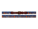 Smathers and Branson Bourbon Needlepoint Belt