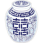 Double Happiness Jar Die Cut Gift Tags