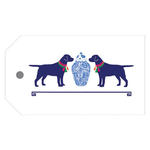 Ginger Jar & Dogs Gift Tags