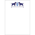 Ginger Jar & Dogs 5x7 Notepad